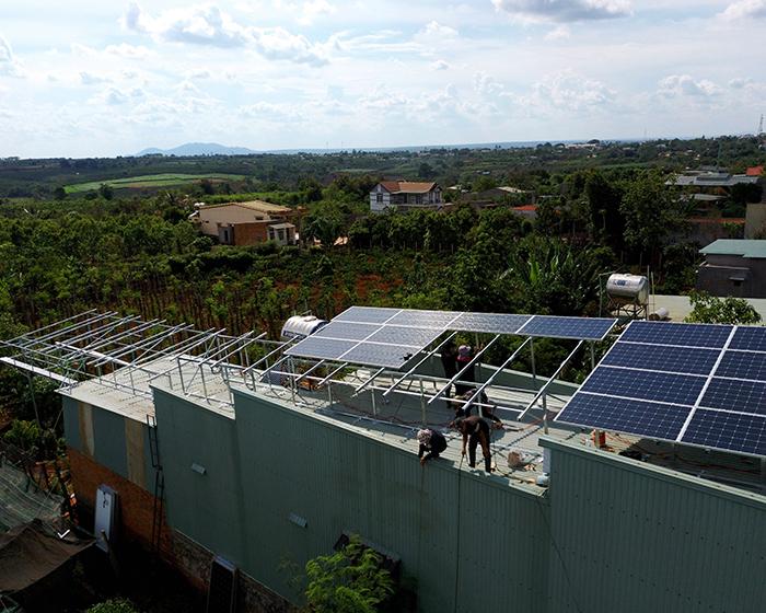 [Điện mặt trời Gia Lai] Hoàn thành lắp đặt hệ thống hóa lưới 28 kWp 6
