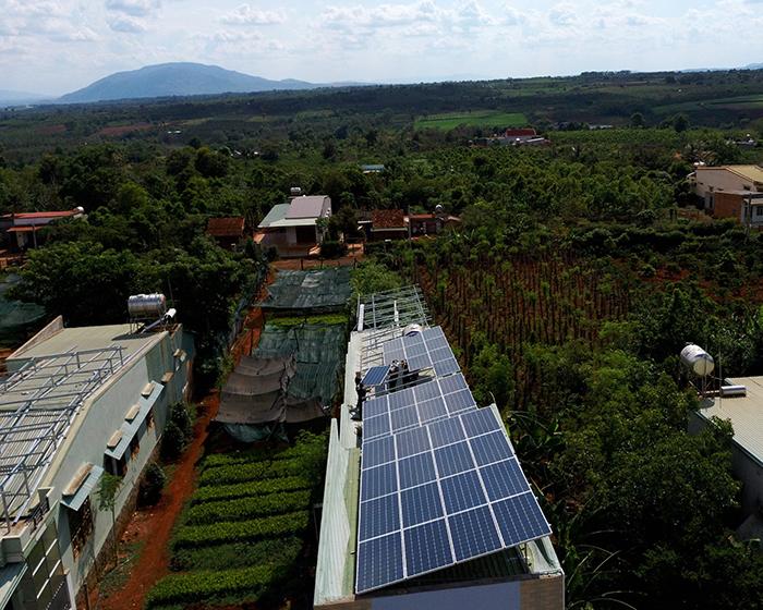 [Điện mặt trời Gia Lai] Hoàn thành lắp đặt hệ thống hóa lưới 28 kWp 7
