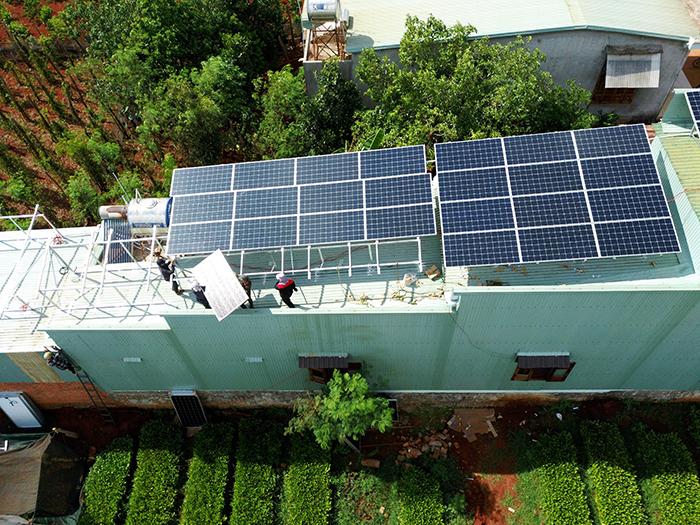 [Điện mặt trời Gia Lai] Hoàn thành lắp đặt hệ thống hóa lưới 28 kWp 8