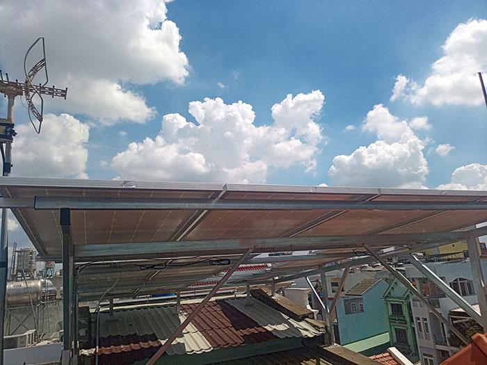 [Điện năng lượng mặt trời TP.HCM] Cài đặt hoàn tất hệ thống 5kWp tại Tân Phú 5