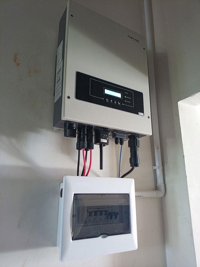 [Điện năng lượng mặt trời TP.HCM] Cài đặt hoàn tất hệ thống 5kWp tại Tân Phú 6
