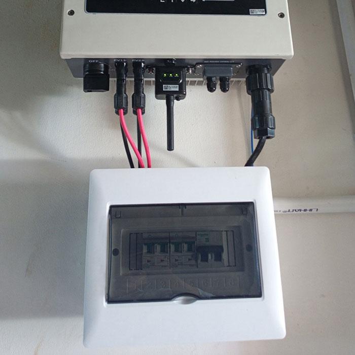 [Điện năng lượng mặt trời TP.HCM] Cài đặt hoàn tất hệ thống 5kWp tại Tân Phú 7
