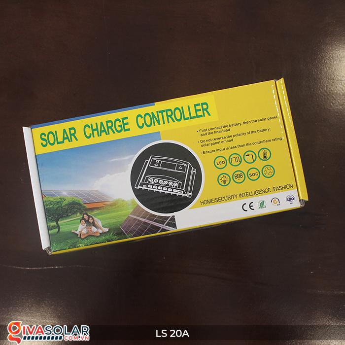 Điều khiển sạc pin năng lượng mặt trời LS20 PMW 20A 1