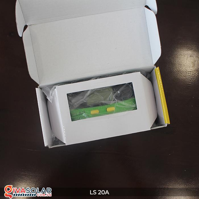 Điều khiển sạc pin năng lượng mặt trời LS20 PMW 20A 2