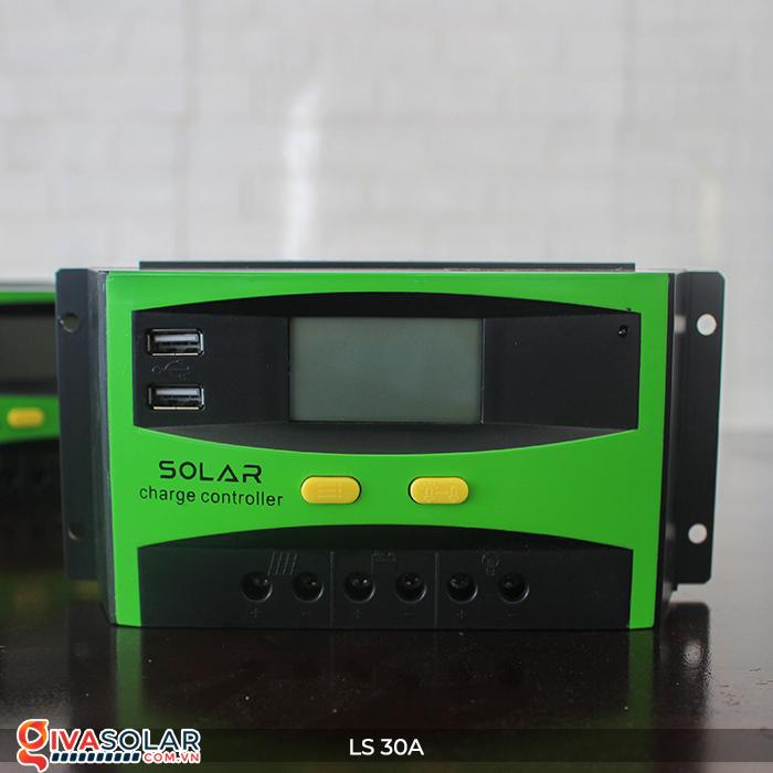 Bộ sạc pin năng lượng mặt trời LS30 PMW 30A 1
