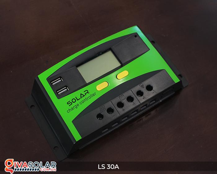 Bộ sạc pin năng lượng mặt trời LS30 PMW 30A 4