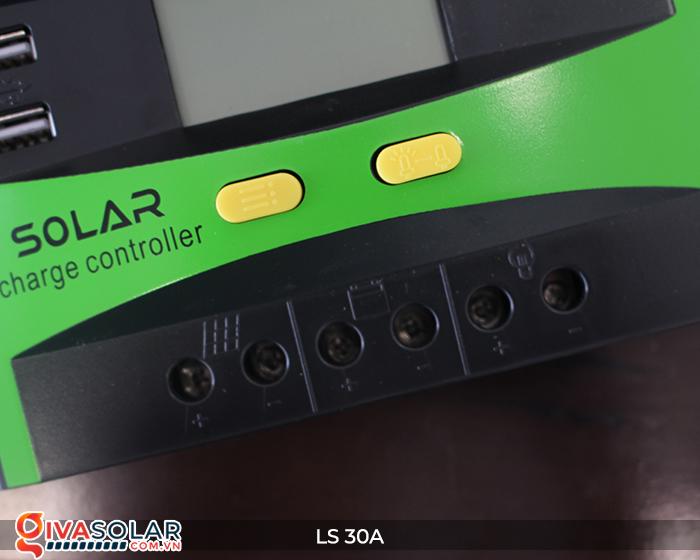 Bộ sạc pin năng lượng mặt trời LS30 PMW 30A 7
