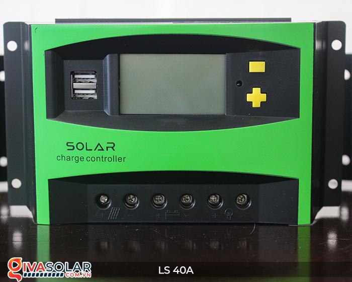 Mạch điều khiển sạc năng lượng mặt trời LS40 PMW 40A 1