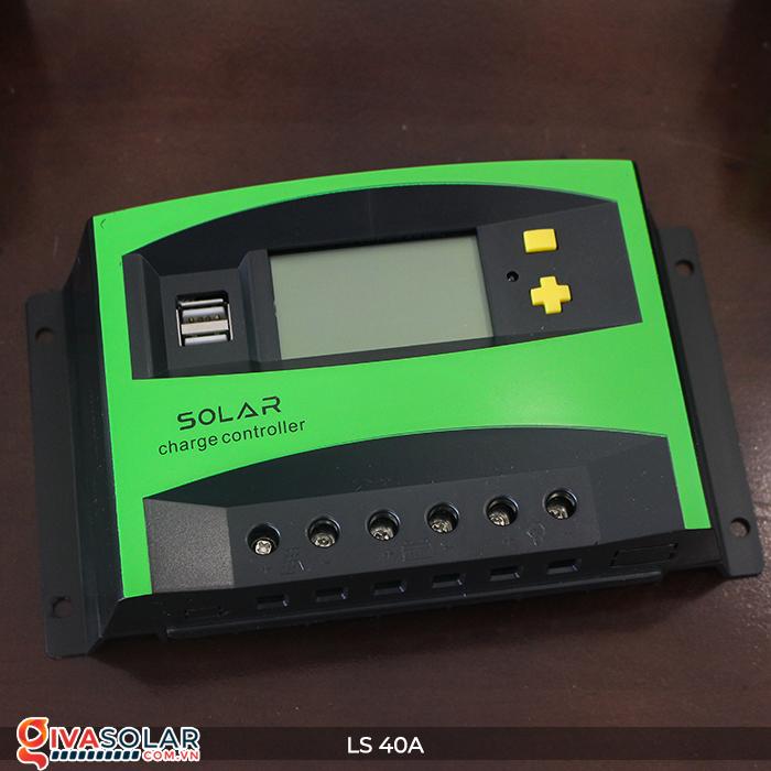 Mạch điều khiển sạc năng lượng mặt trời LS40 PMW 40A 2