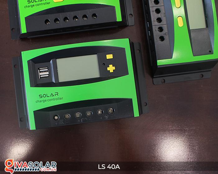 Mạch điều khiển sạc năng lượng mặt trời LS40 PMW 40A 4