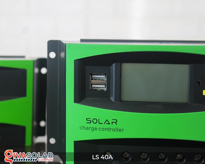 Mạch điều khiển sạc năng lượng mặt trời LS40 PMW 40A 5