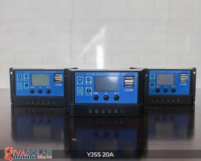 Điều khiển sạc năng lượng mặt trời YJSS20 PWM-20A 2