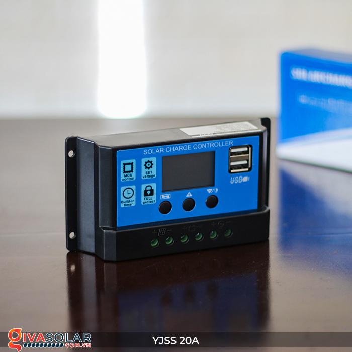 Điều khiển sạc năng lượng mặt trời YJSS20 PWM-20A 3
