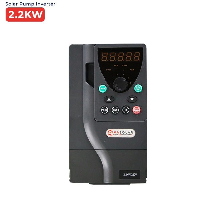 Inverter 2.2kW dùng cho bơm nước năng lượng mặt trời PV500-0022G1