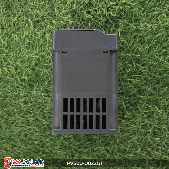 Inverter 2.2kW dùng cho bơm nước năng lượng mặt trời PV500-0022G1 5