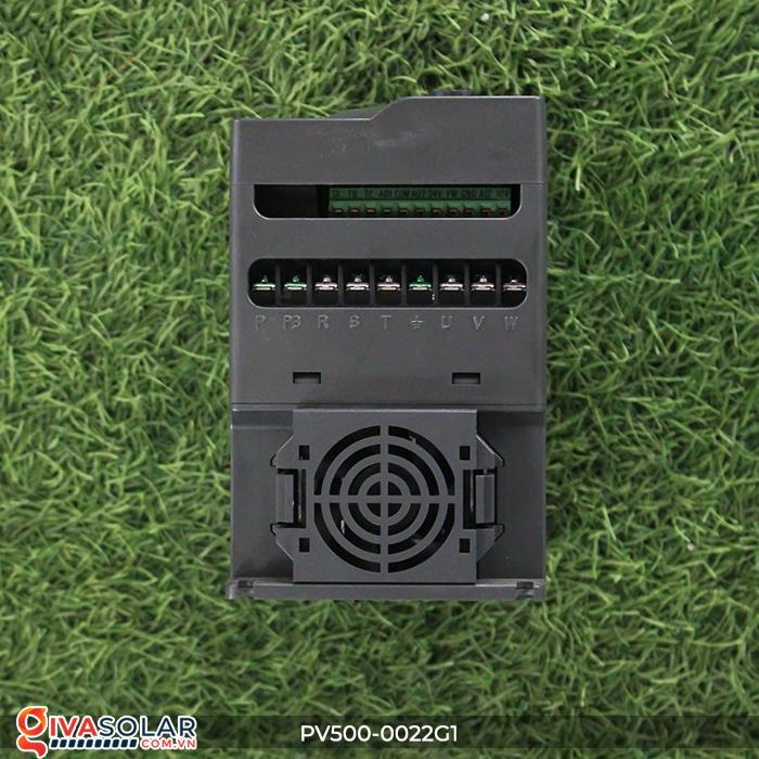 Inverter 2.2kW dùng cho bơm nước năng lượng mặt trời PV500-0022G1 6