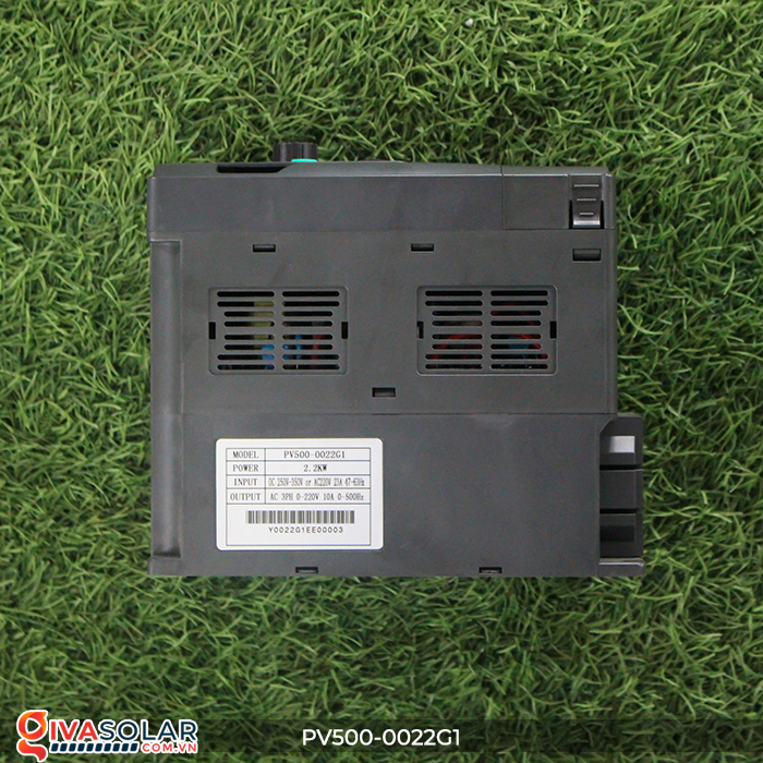 Inverter 2.2kW dùng cho bơm nước năng lượng mặt trời PV500-0022G1 8