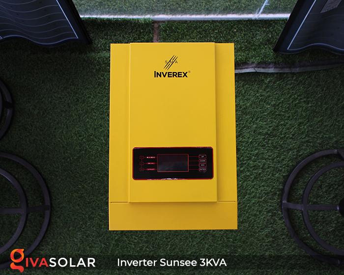 Biến tần năng lượng mặt trời độc lập phụ tải điện lưới SUNSEE 3KVA 1