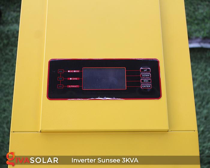 Biến tần năng lượng mặt trời độc lập phụ tải điện lưới SUNSEE 3KVA 2