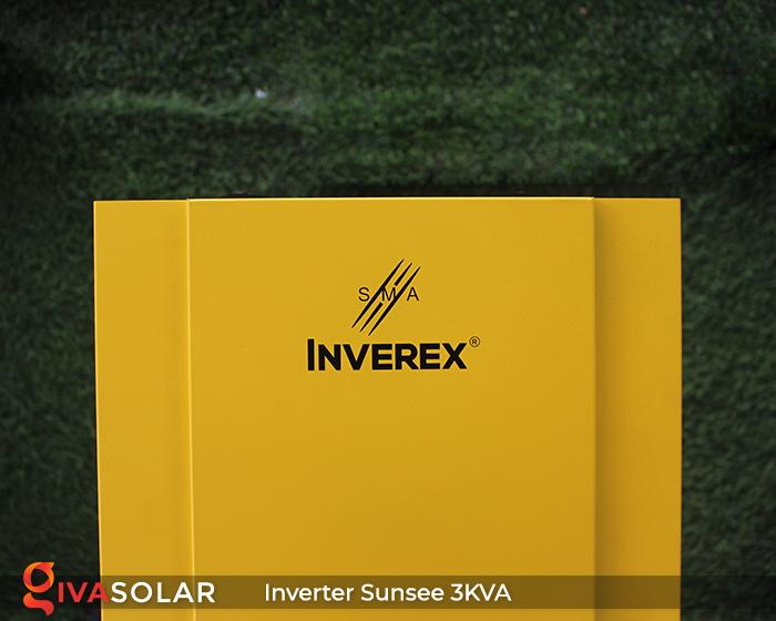 Biến tần năng lượng mặt trời độc lập phụ tải điện lưới SUNSEE 3KVA 3