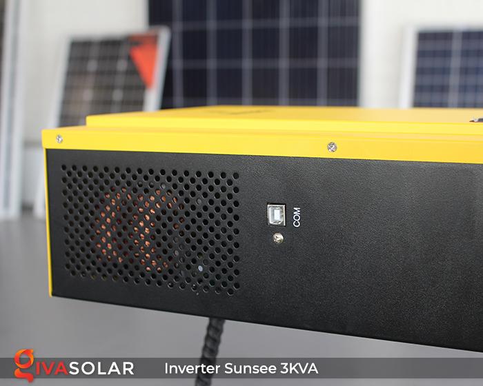 Biến tần năng lượng mặt trời độc lập phụ tải điện lưới SUNSEE 3KVA 6