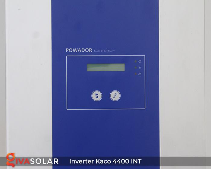 Biến tần chuỗi cho hệ thống điện mặt trời KACO 4400 INT 4