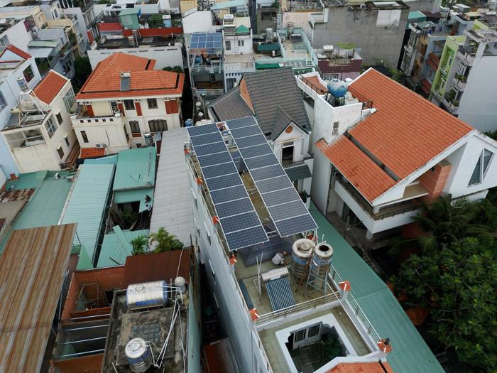Lắp đặt hệ thống điện mặt trời hòa lưới 8kwp cho anh Thông tại Tân Phú 3