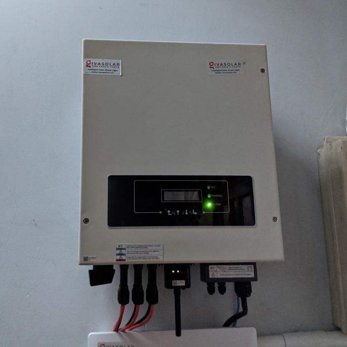 Lắp đặt hệ thống điện mặt trời hòa lưới 8kwp cho anh Thông tại Tân Phú 5