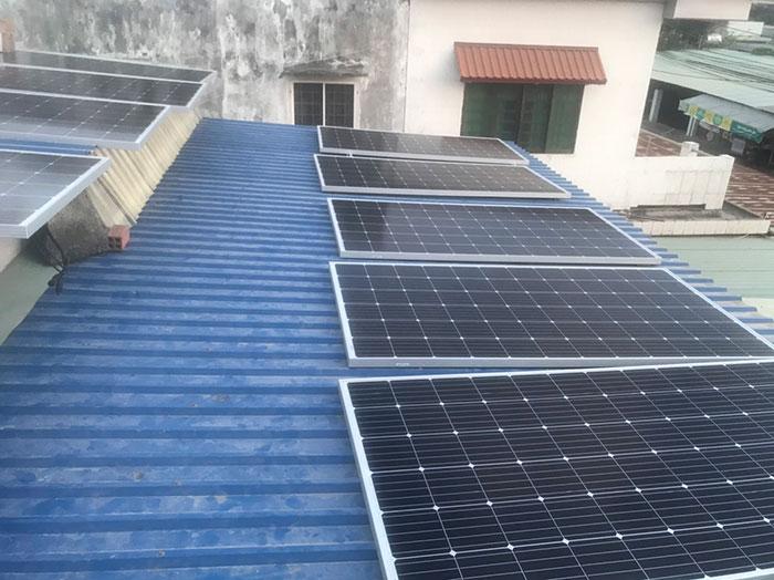 [Năng lượng mặt trời Vũng Tàu] Hoàn thành lắp đặt dự án 4kWp 2
