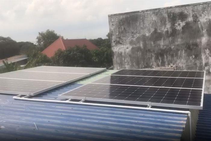[Năng lượng mặt trời Vũng Tàu] Hoàn thành lắp đặt dự án 4kWp 3
