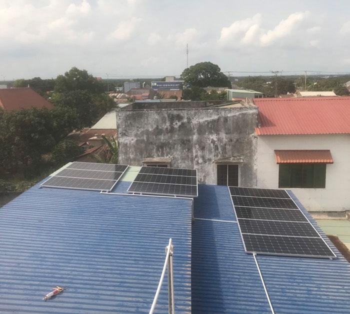 [Năng lượng mặt trời Vũng Tàu] Hoàn thành lắp đặt dự án 4kWp 4
