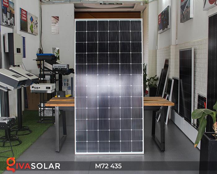 Tấm pin mặt trời công suất lớn M72 - 435W 1