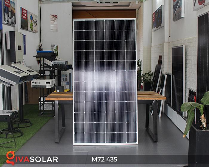 Tấm pin mặt trời công suất lớn M72 - 435W 2