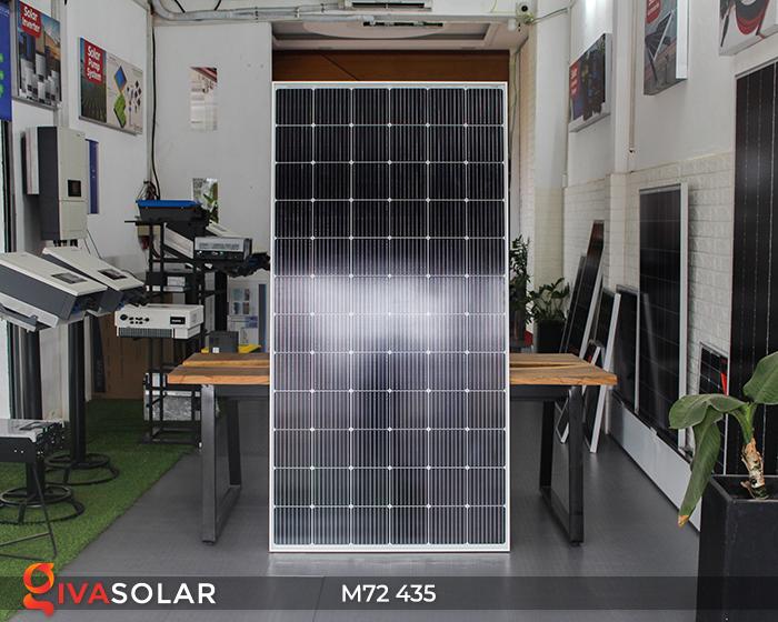 Tấm pin mặt trời công suất lớn M72 - 435W 3