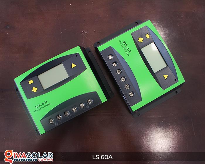 Bộ điều khiển sạc pin mặt trời LS60 PWM 60A 2