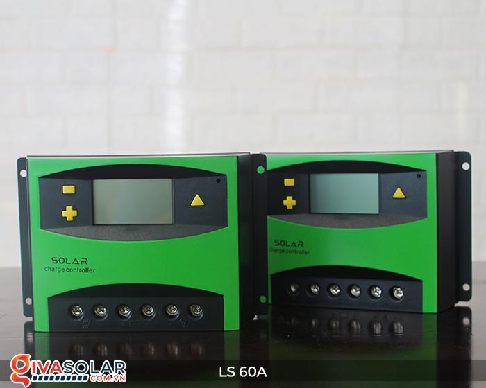 Bộ điều khiển sạc pin mặt trời LS60 PWM 60A 3