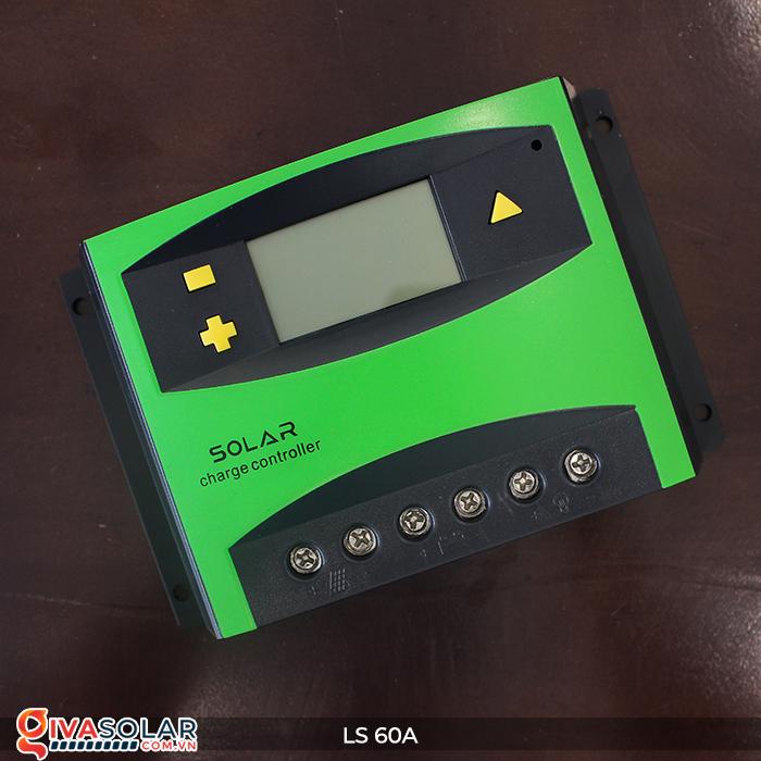 Bộ điều khiển sạc pin mặt trời LS60 PWM 60A 4