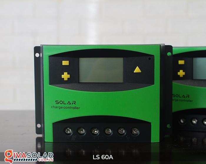 Bộ điều khiển sạc pin mặt trời LS60 PWM 60A 6