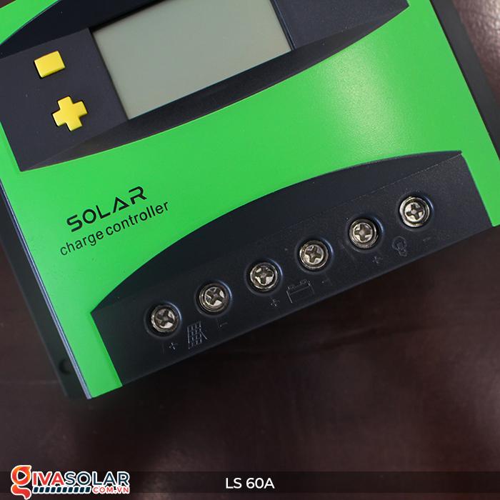 Bộ điều khiển sạc pin mặt trời LS60 PWM 60A 8