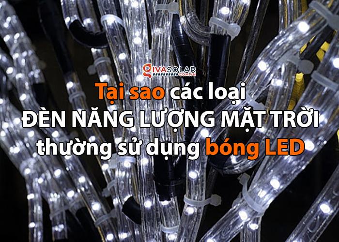 Tại sao các loại đèn năng lượng mặt trời thường sử dụng bóng LED? 0