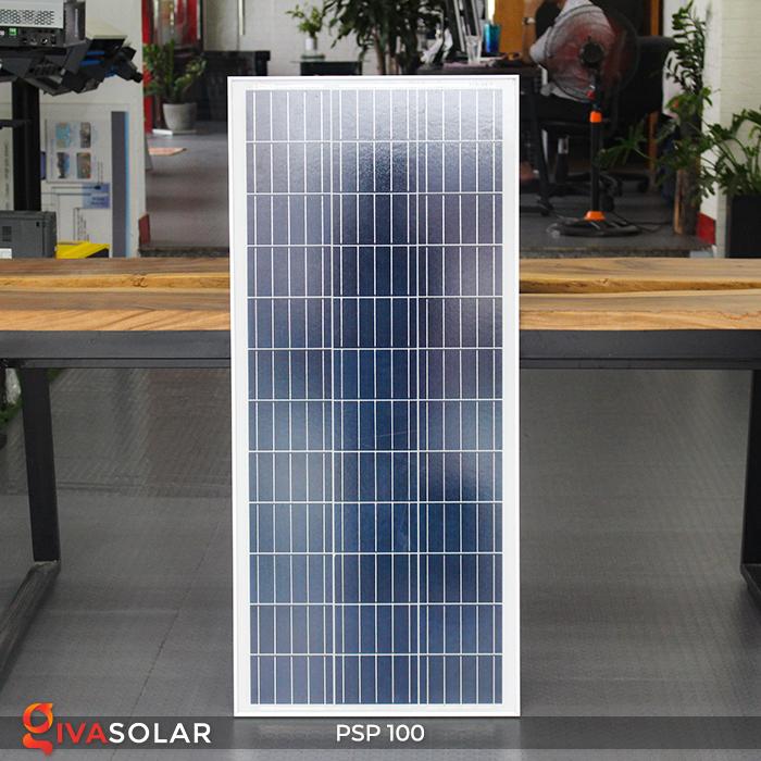 Pin năng lượng mặt trời Poly PSP-100W 12