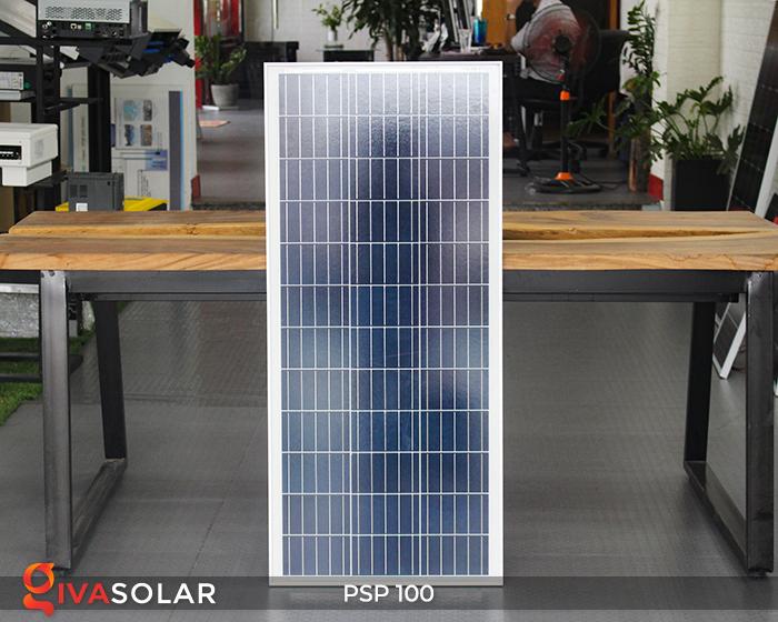 Pin năng lượng mặt trời Poly PSP-100W 2