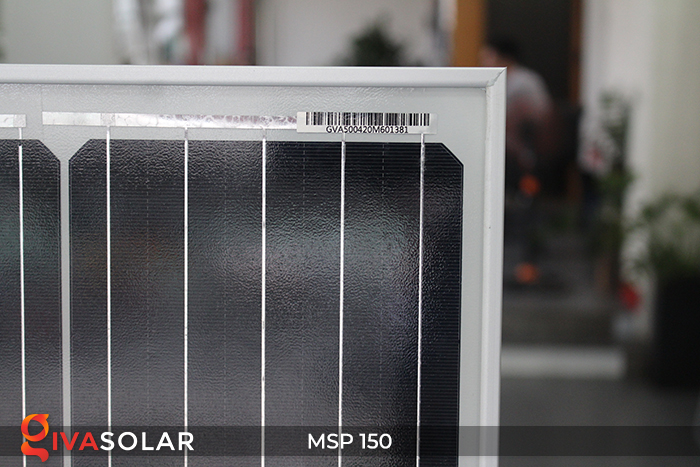 Tấm pin quang điện MONO MSP-150W 6