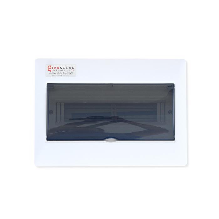 Tủ điện năng lượng mặt trời âm tường đáy nhựa 14 đường AP-14 0