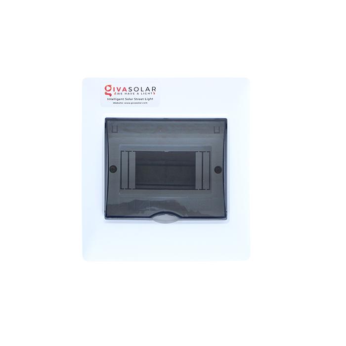Tủ điện âm tường đáy nhựa 6 đường AP-6 0