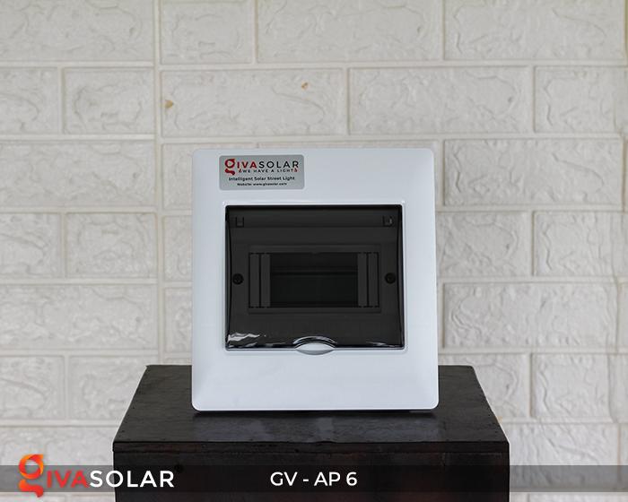 Tủ điện âm tường đáy nhựa 6 đường AP-6 1