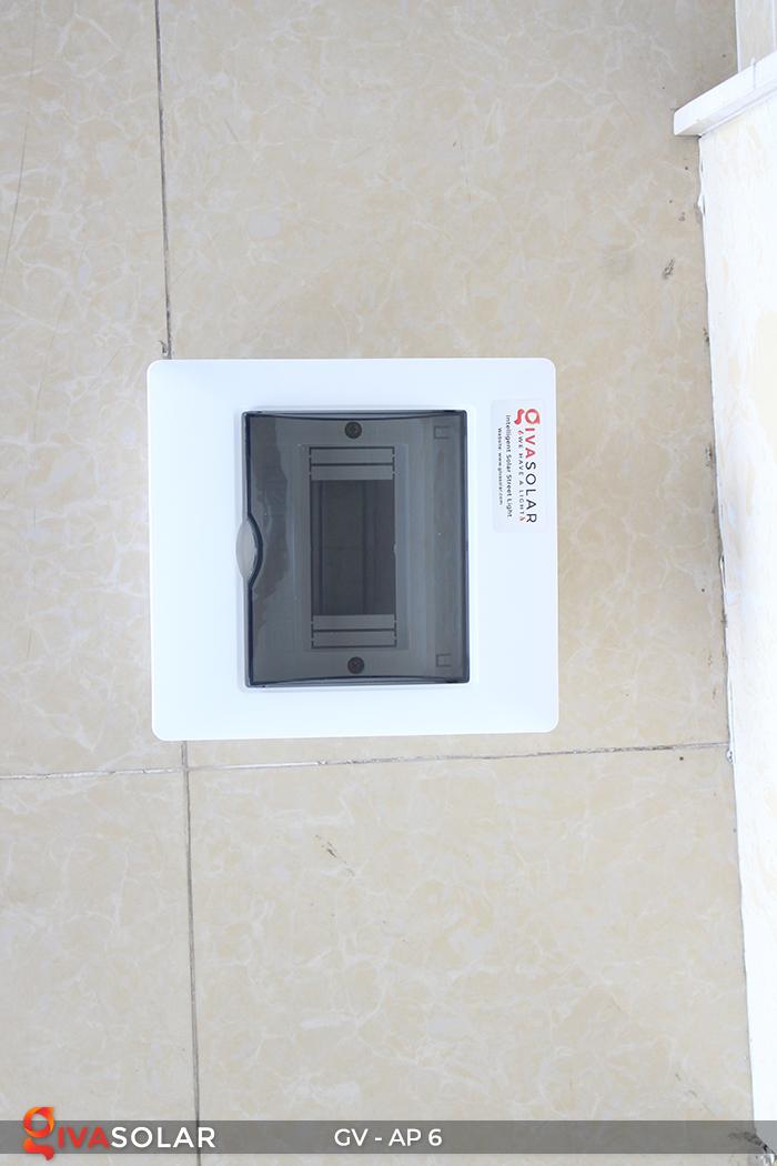 Tủ điện âm tường đáy nhựa 6 đường AP-6 10