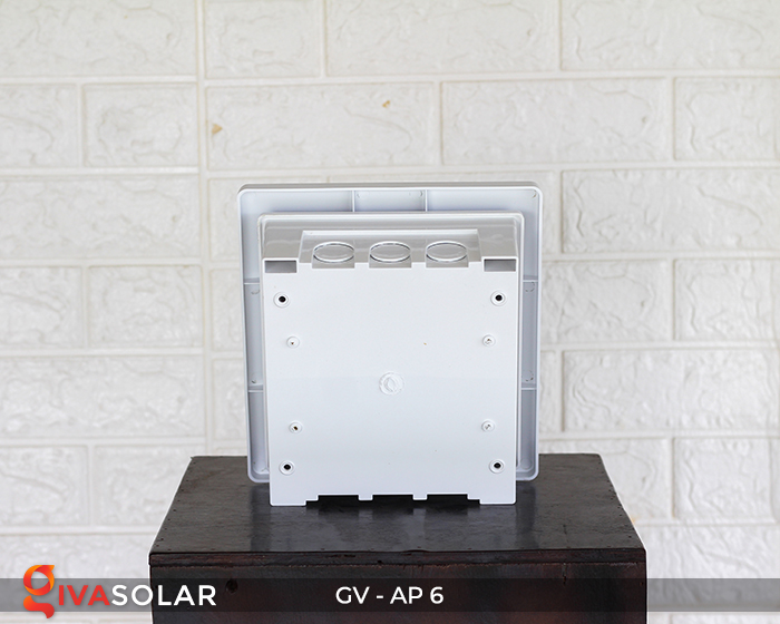 Tủ điện âm tường đáy nhựa 6 đường AP-6 6
