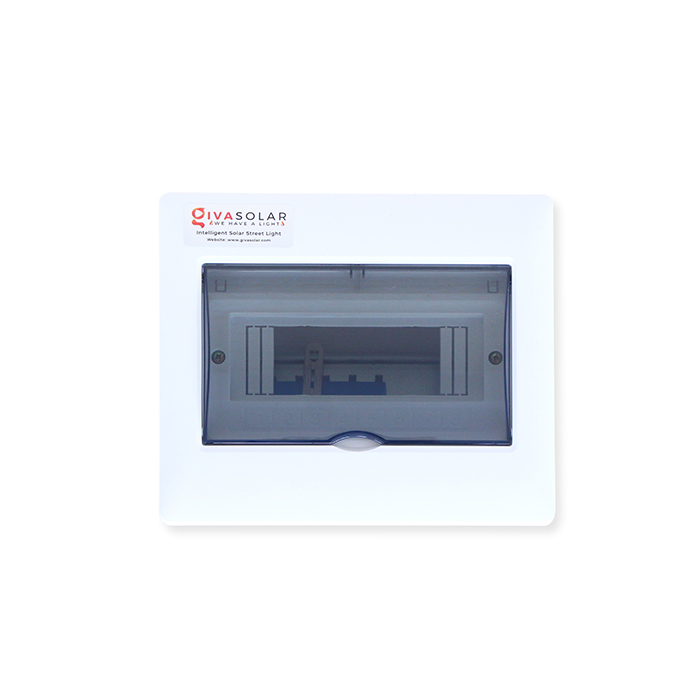 Tủ điện âm tường đáy nhựa 8 đường AP-8 0