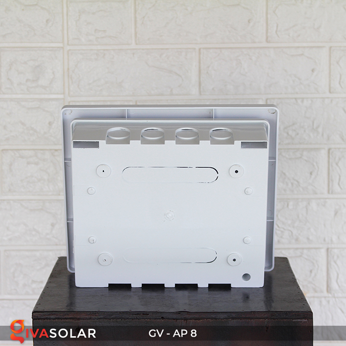 Tủ điện âm tường đáy nhựa 8 đường AP-8 8